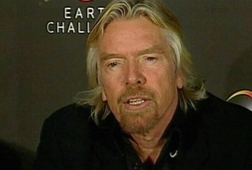 Richard Branson - Virgin Atlantic's profits soar despite recession