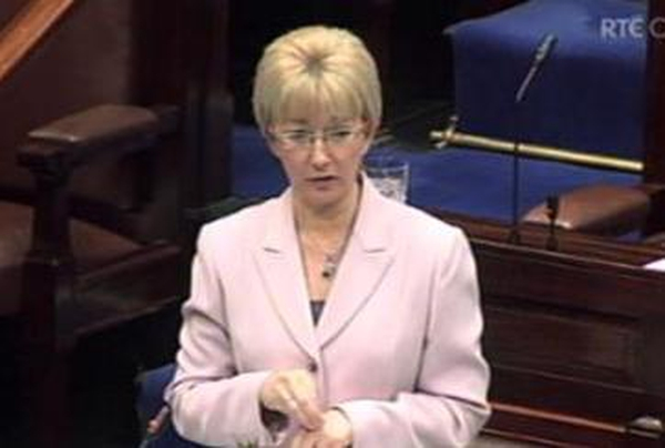 Mary Hanafin - Dept reacts to report