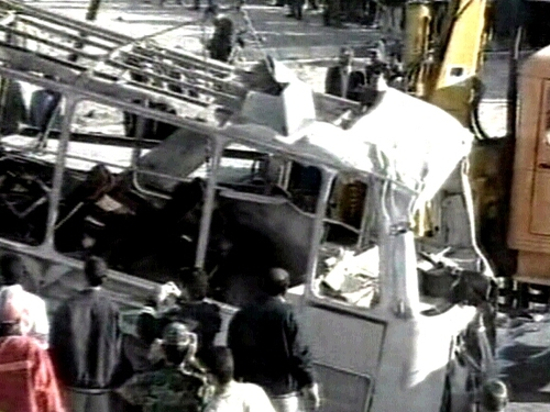 Iran bomb - 11 killed