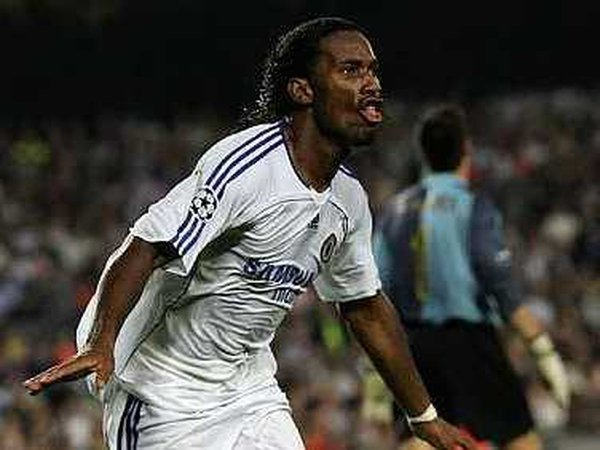 Didier Drogba will lead the Chelsea line at Anfield tonight
