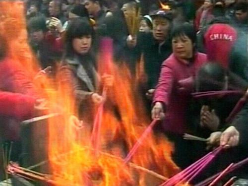 China - Ceremonies mark New Year