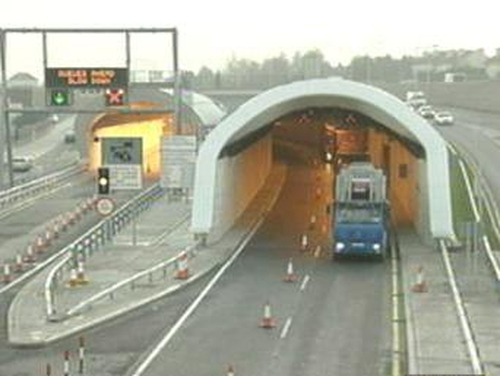 Dublin Port Tunnel - 6,000 trucks pass through daily