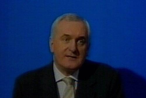 Bertie Ahern - 'Watershed for Ireland's children'