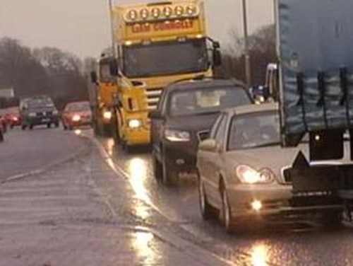 Traffic - Weather warning issued