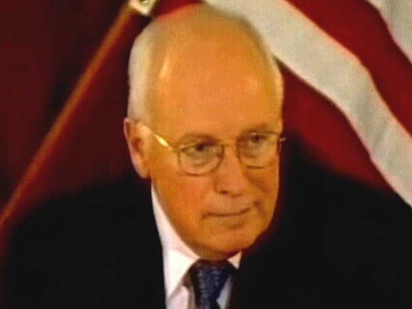 Dick Cheney - US presence in Persian Gulf