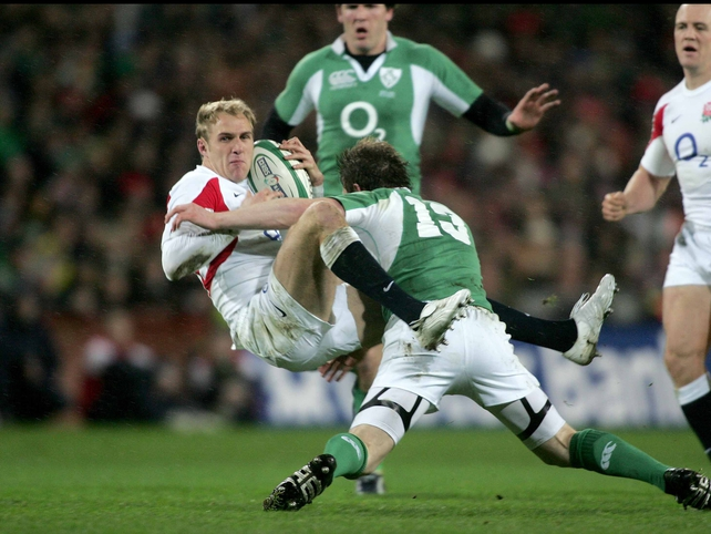 Ireland v England was a seismic clash at Croke Park in 2007