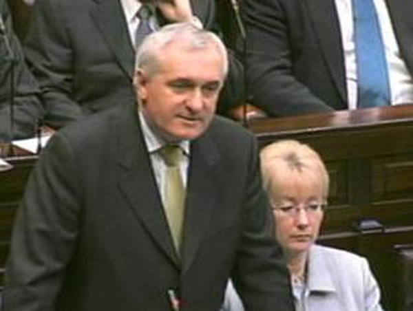 Bertie Ahern - More funds for social activities