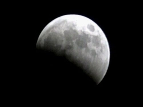 Lunar eclipse - Washington, February 2008