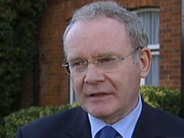 Martin McGuinness - 'We cannot tolerate any discrimination'