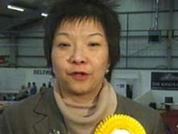 Anna Lo - Set for Belfast South win