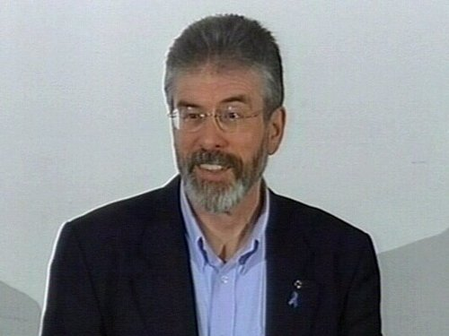 Gerry Adams - 'Disappointing'