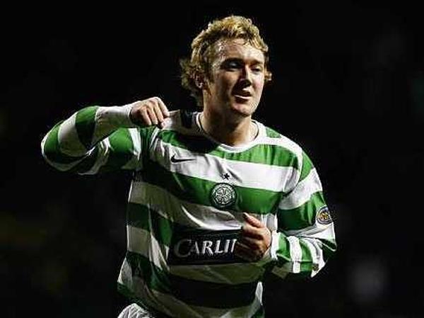Aiden McGeady's inviting cross set up Georgios Samaras for Celtic's second