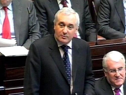 Bertie Ahern - Council did not spend money