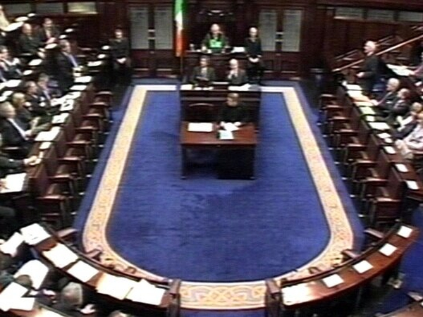 Dáil - Vote on Criminal Justice Bill