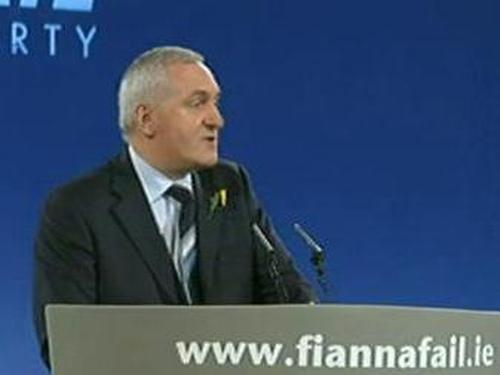 Bertie Ahern - Opening address at Ard Fheis