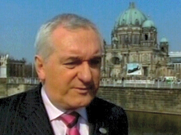 Bertie Ahern - 'Events never took place'