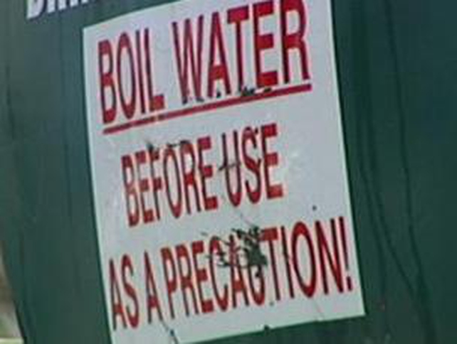 Warning - 90,000 had to boil or buy water