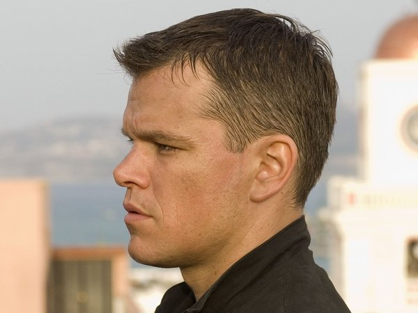 Damon in The Bourne Ultimatum