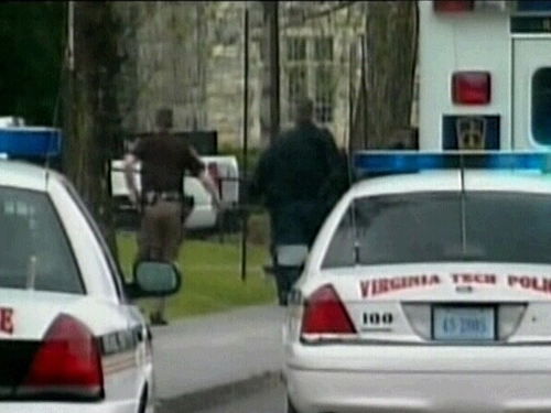 Virginia Tech campus - 32 believed dead in shooting
