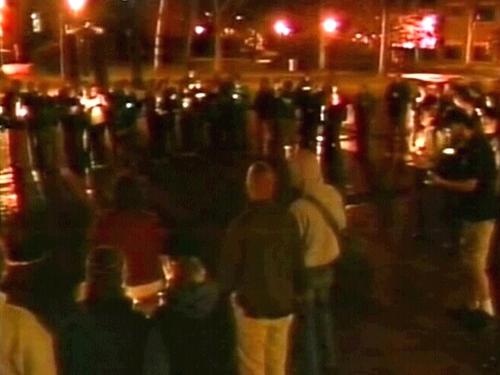 Virginia - Vigil for campus victims