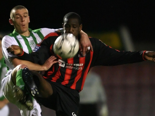 Darren Mansaram was the match-winner for Bohemians