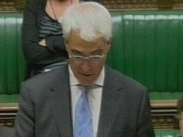 Alistair Darling - Announced inquiry last week