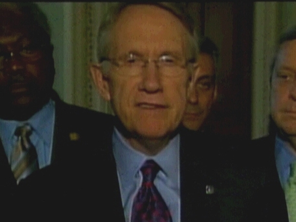 Harry Reid - 'Still about 15 issues to resolve'