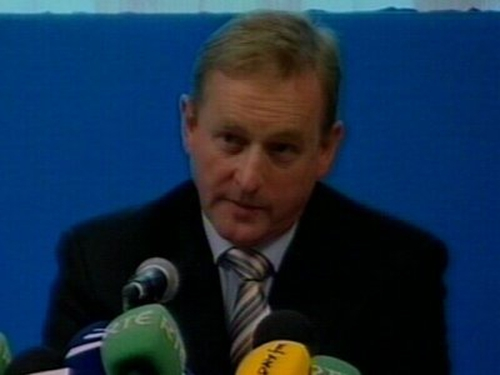 Enda Kenny  - Offer to personally chair negotiations, if elected