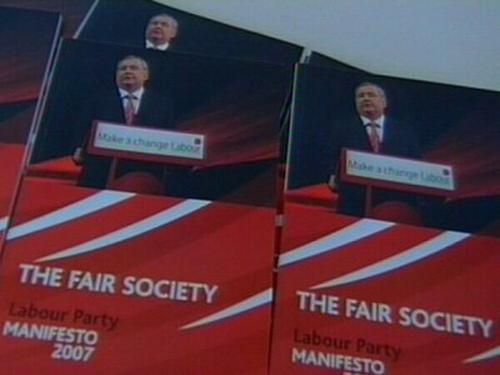 Labour Party - The Fair Society manifesto