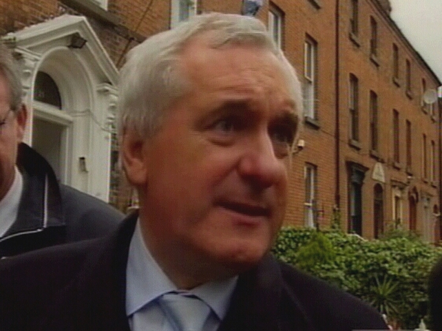 Bertie Ahern - Talks with Sargent adjourned