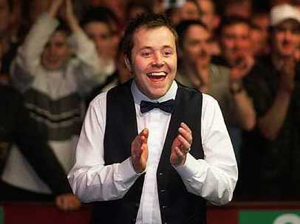 John Higgins continued where he left off at the Crucible in May