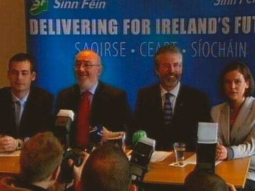 Sinn Féin - Showcased the party's 41 candidates