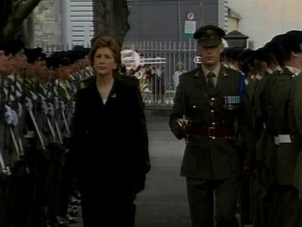 Mary McAleese - Attended Arbour Hill ceremony