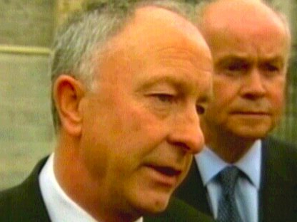 Dermot Ahern - Decision will be reviewed in three years