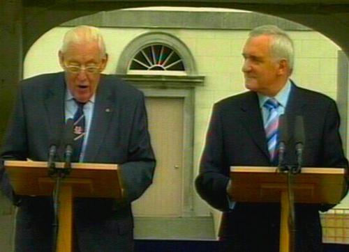Paisley & Ahern - Co Antrim meeting