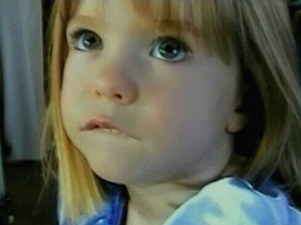 Madeleine McCann - Missing since 3 May