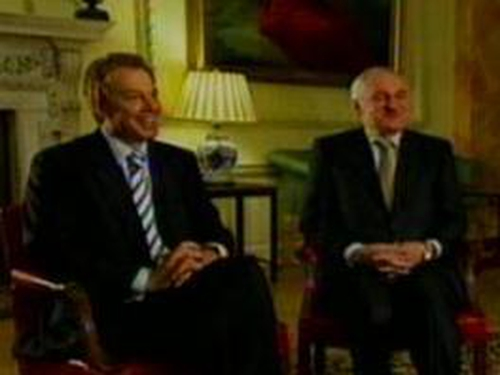 Blair & Ahern - Watch Brian O'Connell's interview