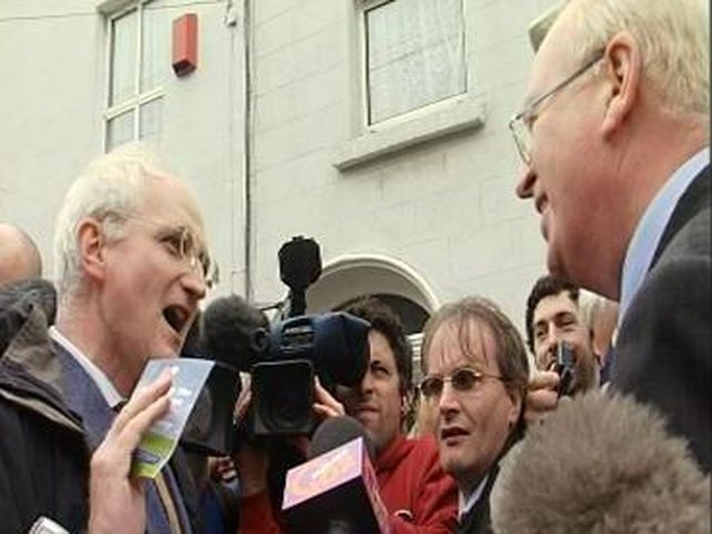 Rumble in Ranelagh - Michael McDowell is challenged to denounce a 'lying' PD pamphlet