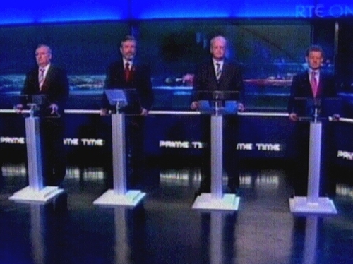 The 'Other' Debate - Leaders clashed on issues like taxes and crime in their only debate of the campaign