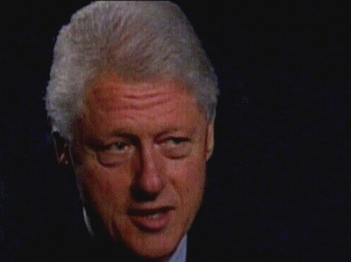 Bill Clinton - With Blair and Mitchell in FF broadcast