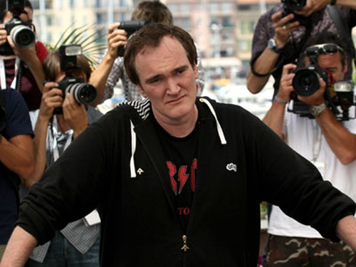 Tarantino - Arrives at Cannes Film Festival