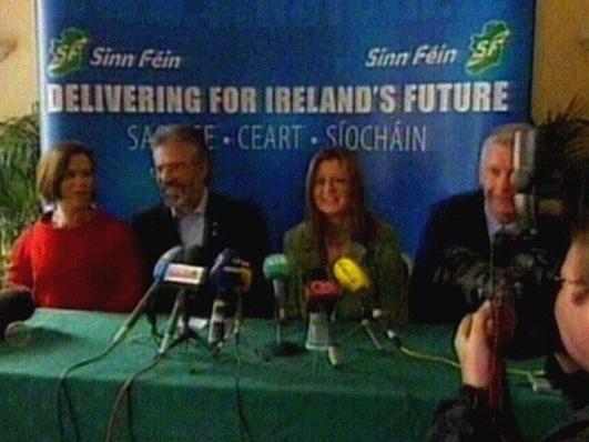 Máirín Mhic Lochlainn, Cumann Mháirtín Uí Chadhain do Shinn Féin.