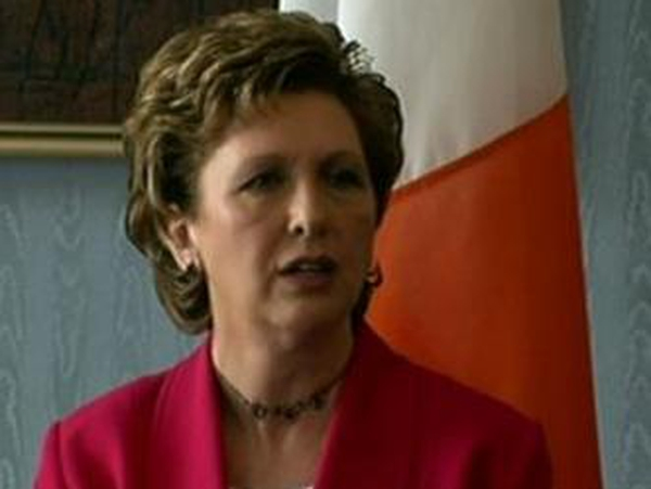 Mary McAleese - Conflict will only be resolved through political dialogue