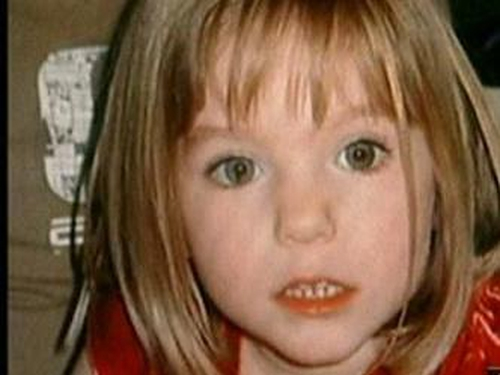 Madeleine McCann - Disappeared in May 2007