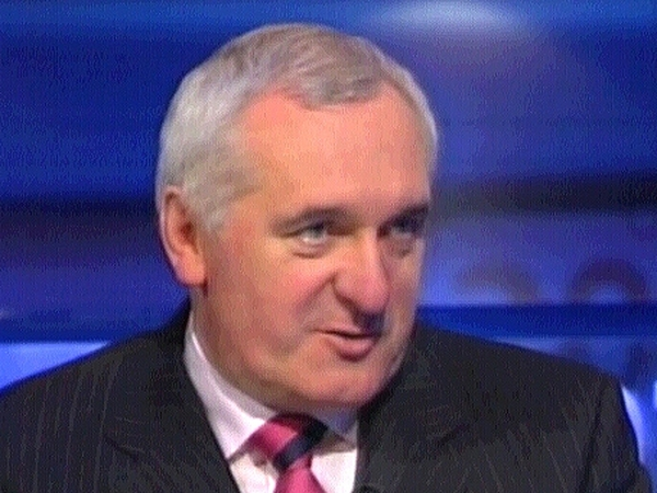 Bertie Ahern - New jnr ministers to be appointed