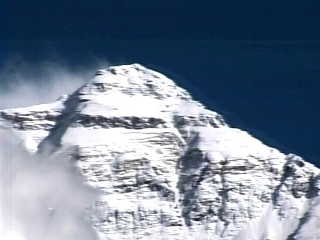 Mount Everest - One of the seven mountains conquered by Ian McKeever