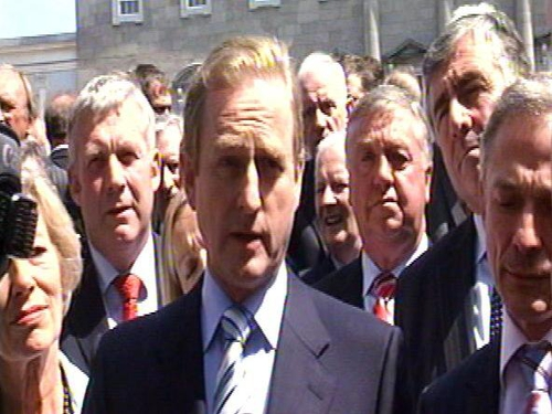Enda Kenny - Met with Mary Harney today