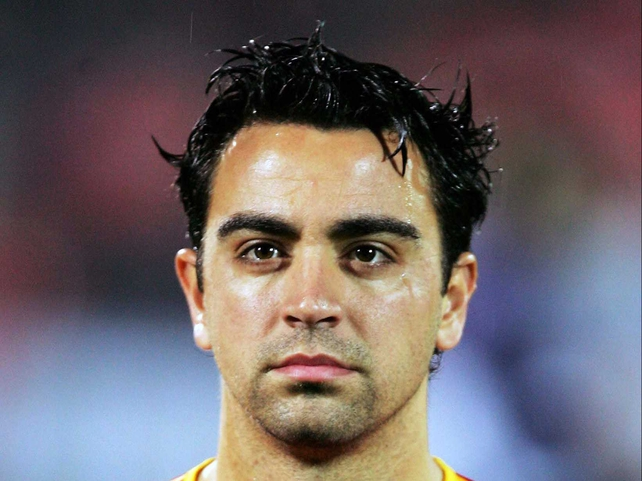 Xavi has spent his whole career at Barca