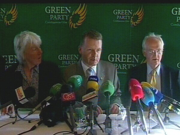 Green Party - No agreement with FF
