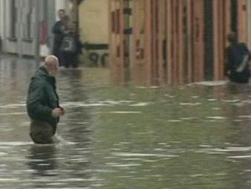 East Belfast - Severe flooding